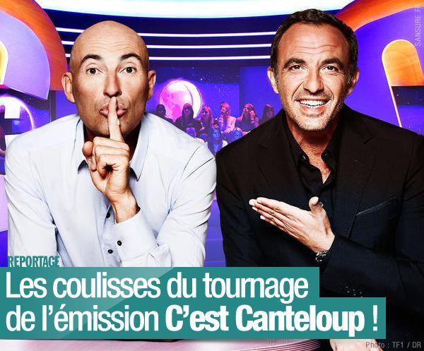 Les coulisses du tournage de l'émission C'est Canteloup ! #Exclusif