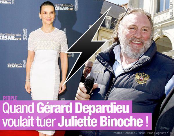 Quand Gérard Depardieu voulait tuer Juliette Binoche ! #clash