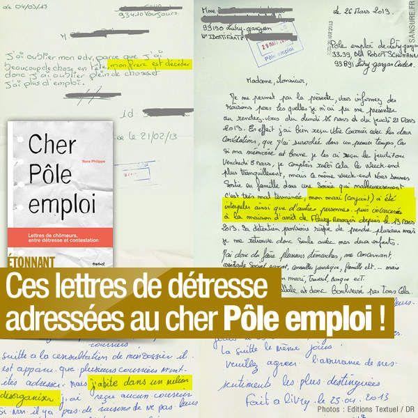 Ces lettres de détresse adressées au cher Pôle emploi ! #PoleEmploi