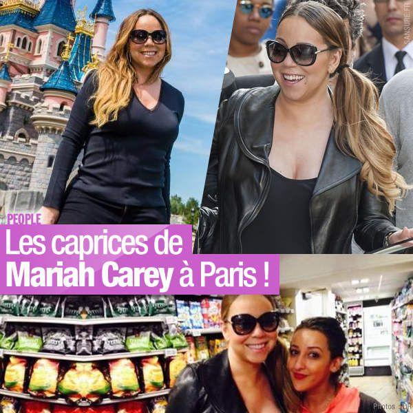 Les caprices de Mariah Carey à Paris ! #MariahCarey