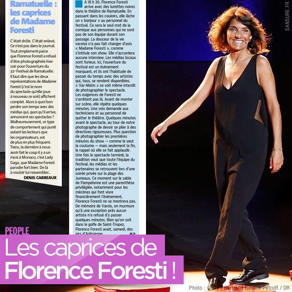 Les caprices de Florence Foresti ! #MadameForesti