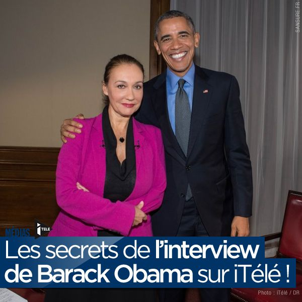Les secrets de l'interview de Barack Obama sur iTélé ! #Obama