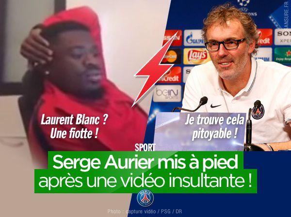 Serge Aurier mis à pied après une vidéo insultante ! #PSG