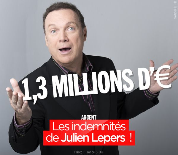Les indemnités de Julien Lepers ! #QPUC