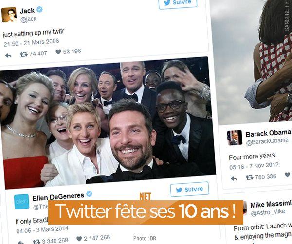 Twitter fête ses 10 ans ! #LoveTwitter