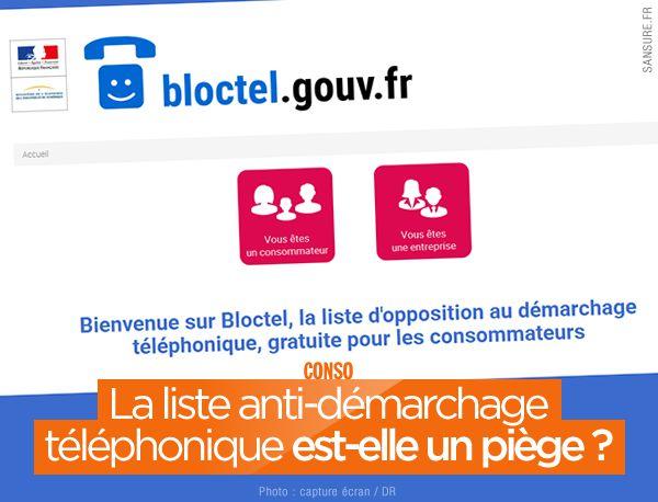 La liste anti-démarchage téléphonique est-elle un piège ? #Bloctel