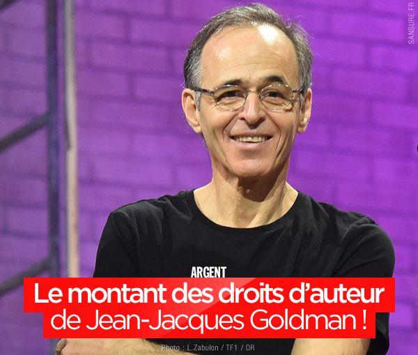 Le montant des droits d'auteur de Jean-Jacques Goldman ! #business