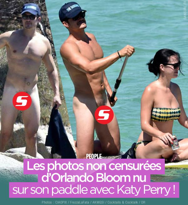 Les photos non censurées d'Orlando Bloom nu sur son paddle avec Katy Perry ! #OrlandoBloom