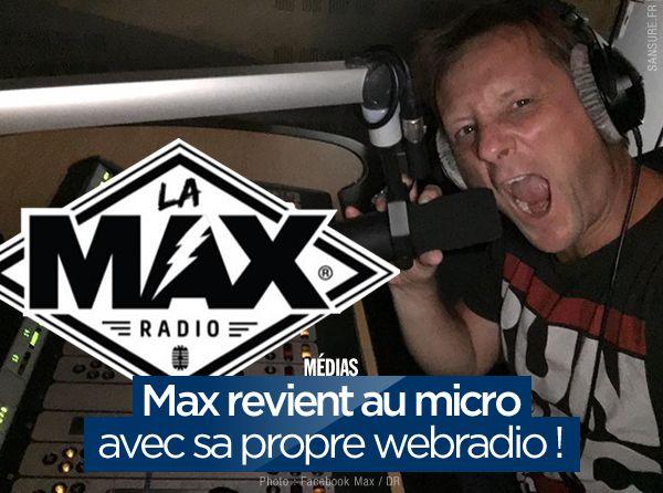 Max revient au micro avec sa propre webradio ! (mis à jour) #LaMaxRadio