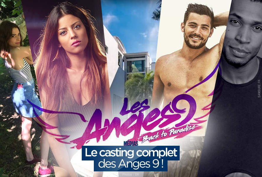 Le casting complet des Anges 9 ! #LesAnges9