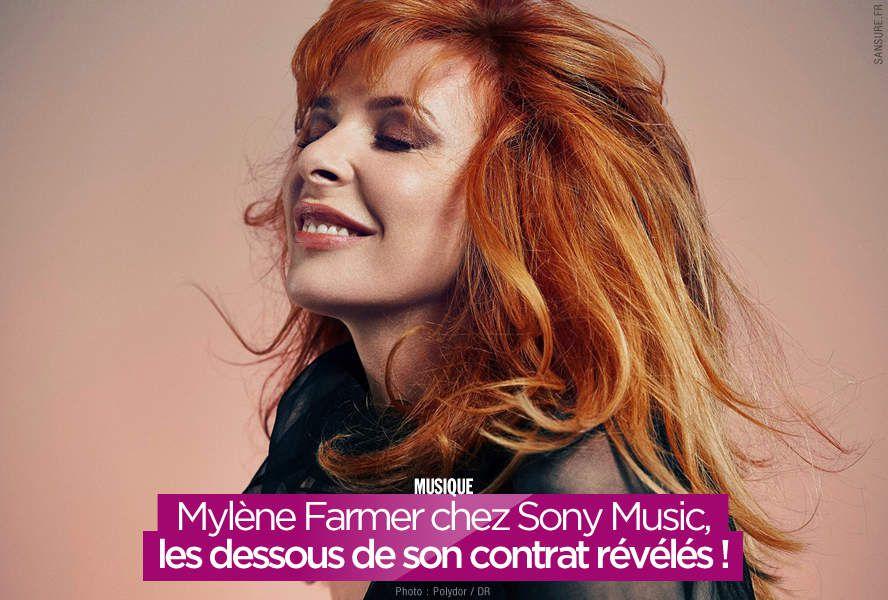 Mylène Farmer chez Sony Music, les dessous de son contrat révélés ! #business