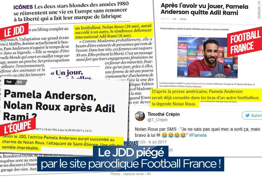 Le JDD piégé par le site parodique Football France ! (mis à jour) #FakeNews