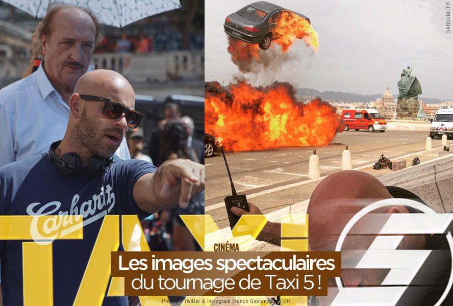 Les images spectaculaires du tournage de Taxi 5 ! #Taxi5