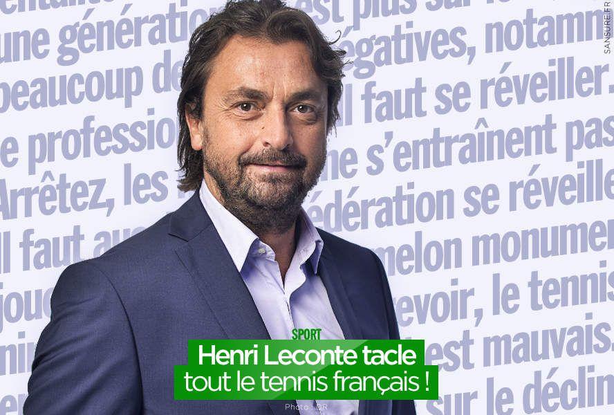 Henri Leconte tacle tout le tennis français ! #clash