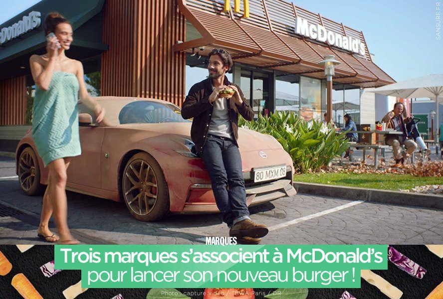 Trois marques s'associent à McDonald's pour lancer son nouveau burger ! #GrandVeggie