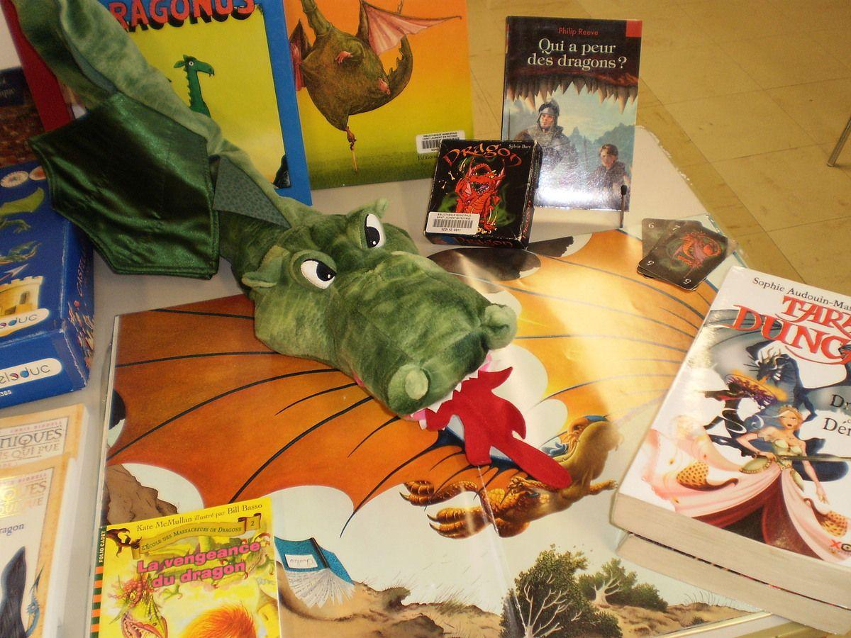 Attention, dragons à la bibliothèque-ludothèque !