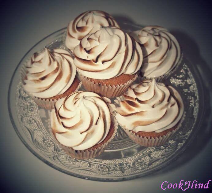 Cup cake citron meringué