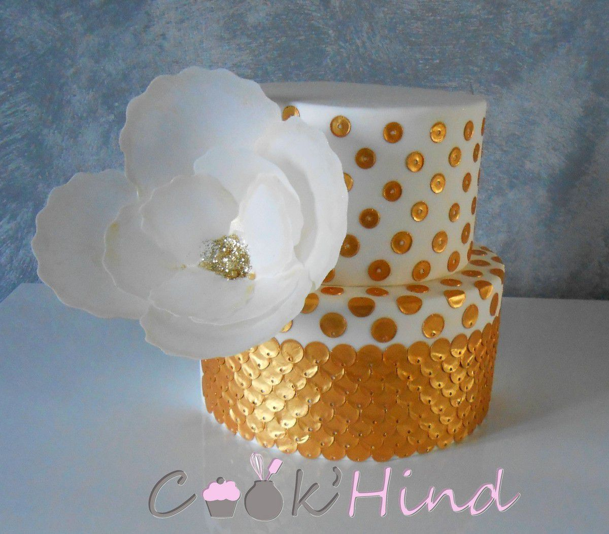 Comment realiser un sequin cake