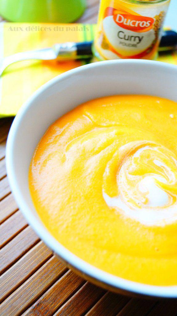 Velouté de patate douce carotte & lait de coco