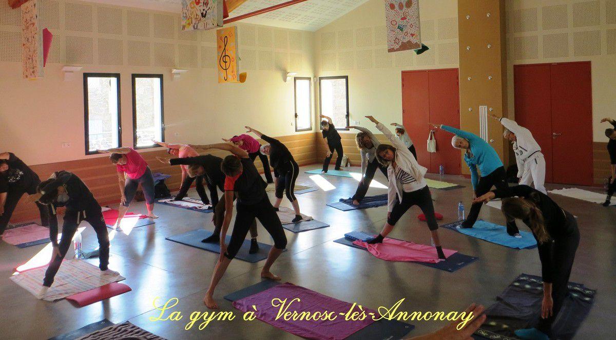 Gymnastique et danse à Vernosc-lès-Annonay