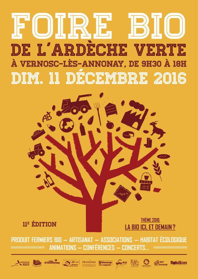 Foire Bio de l'Ardèche Verte à Vernosc-lès-Annonay