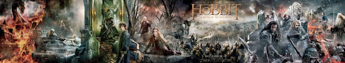 The Hobbit, the Battle of the five armies, posters !