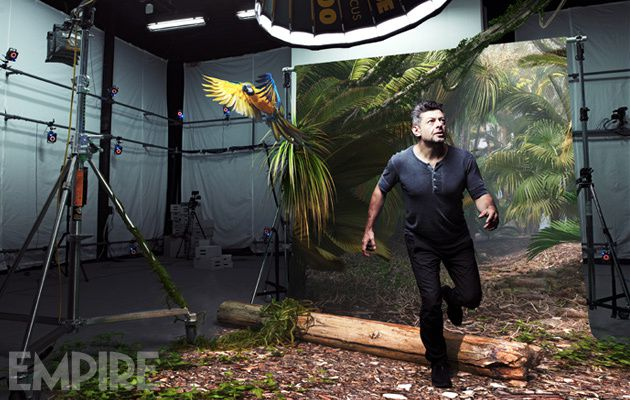 Andy Serkis, photographed exclusively for Empire at The Imaginarium, Ealing Studios. Photography: Steve Neaves !