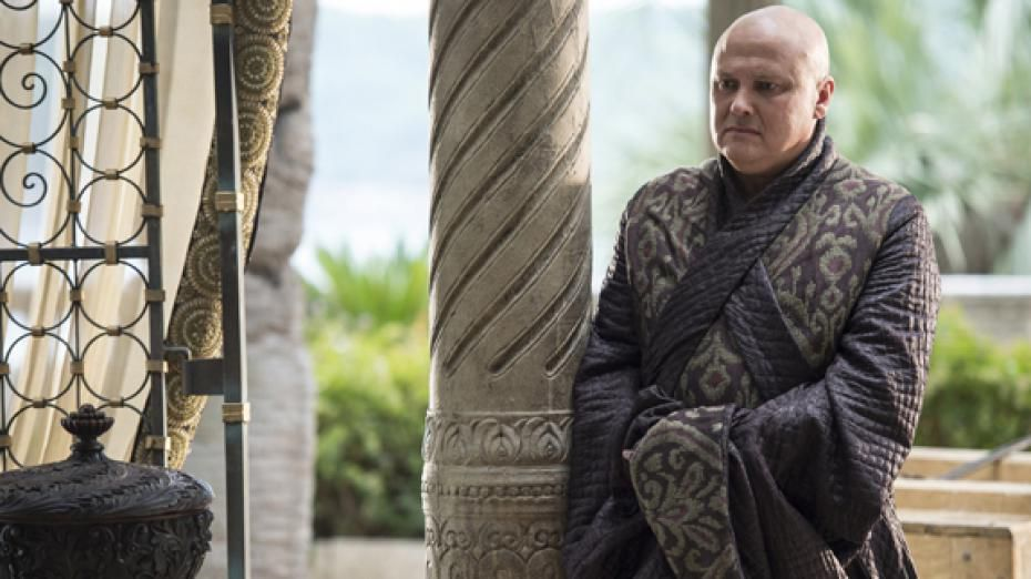 Lord Varys n'est pas tellement rassuré. Lord Varys is not really assured.