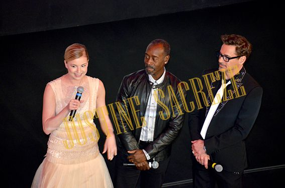 Emily Vancamp, Don Cheadle et Robert Downey jr !