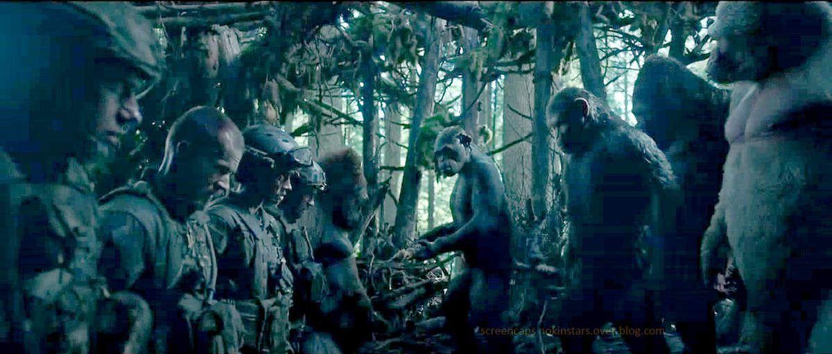 Des soldats venus négocier ?