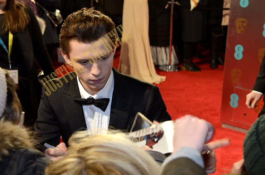 Tom Holland, avant...After !