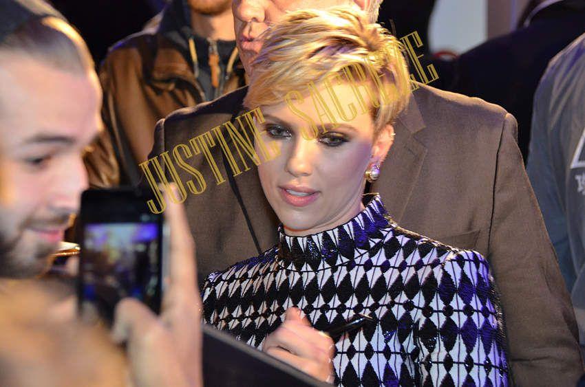 Scarlett Johansson sous le feu des projecteurs !