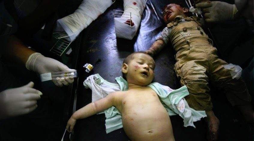 the Wounded Children of Gaza