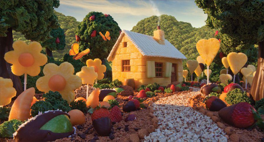 les paysages d'aliments sont des FOODSCAPES