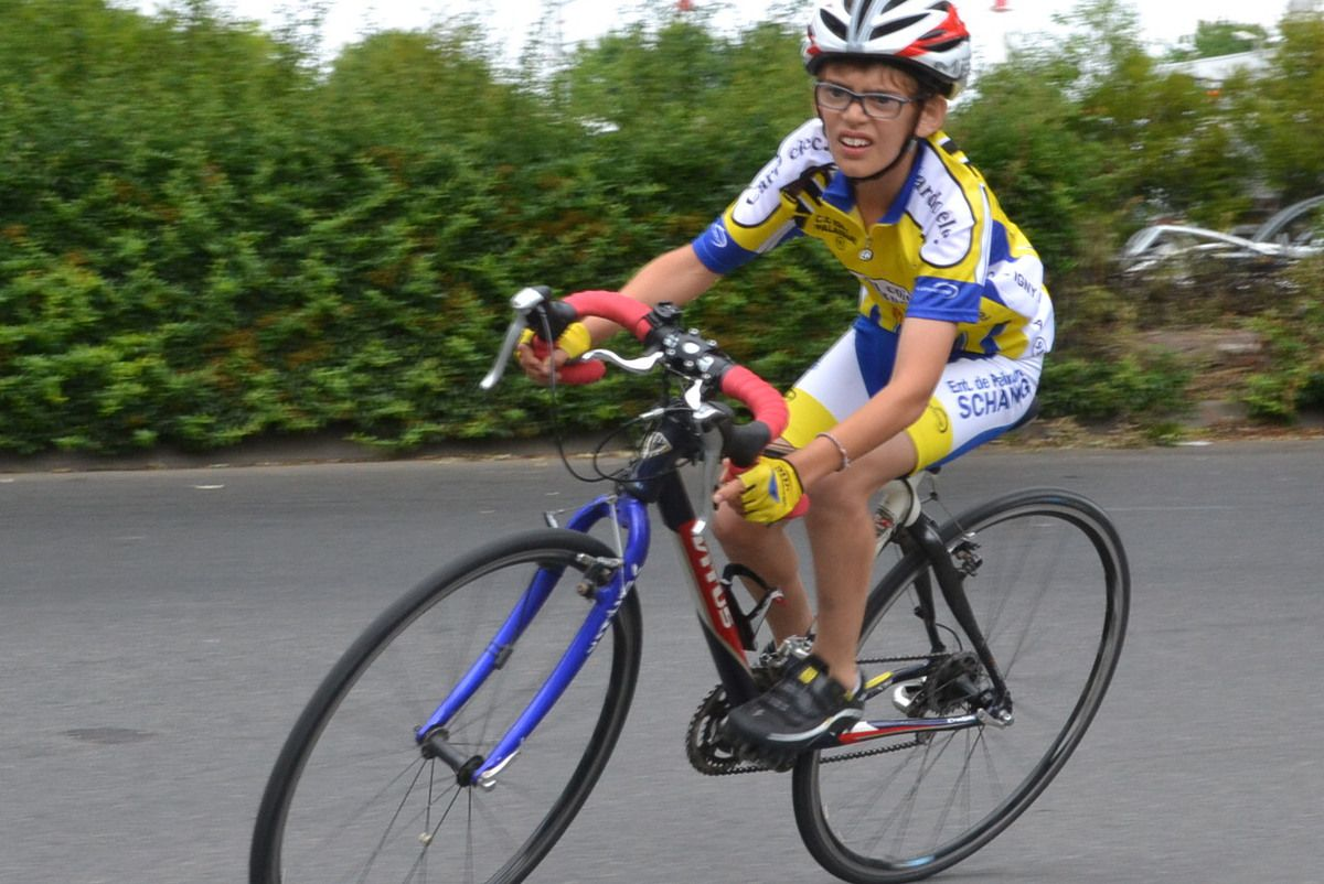 Piste aménagée: ANTONY-Zaida, école de cyclisme