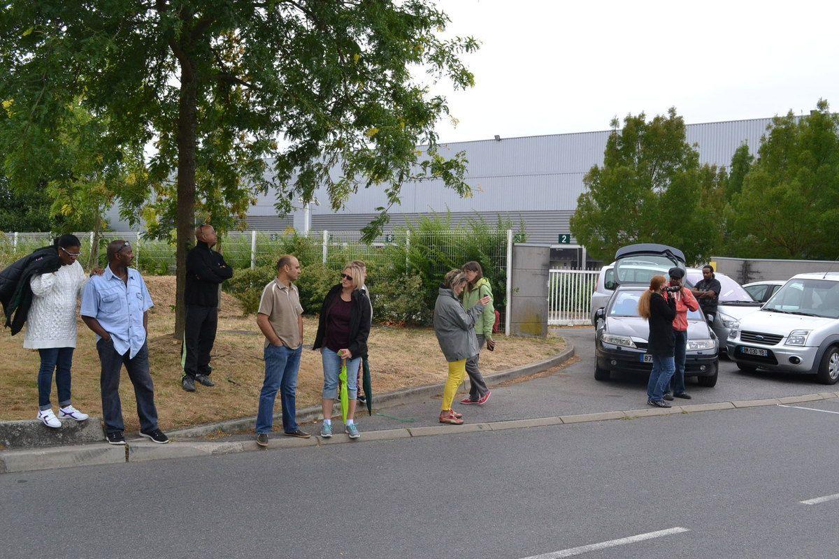 Organisateurs, spectateurs, Frédéric THIBAULT, Christophe JEAN-PIERRE, Didier et Maxime MURICE