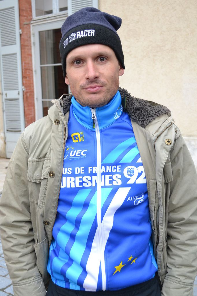 Christophe DELAMARRE (Les Bleus de France), Champion d'Europe Masters.