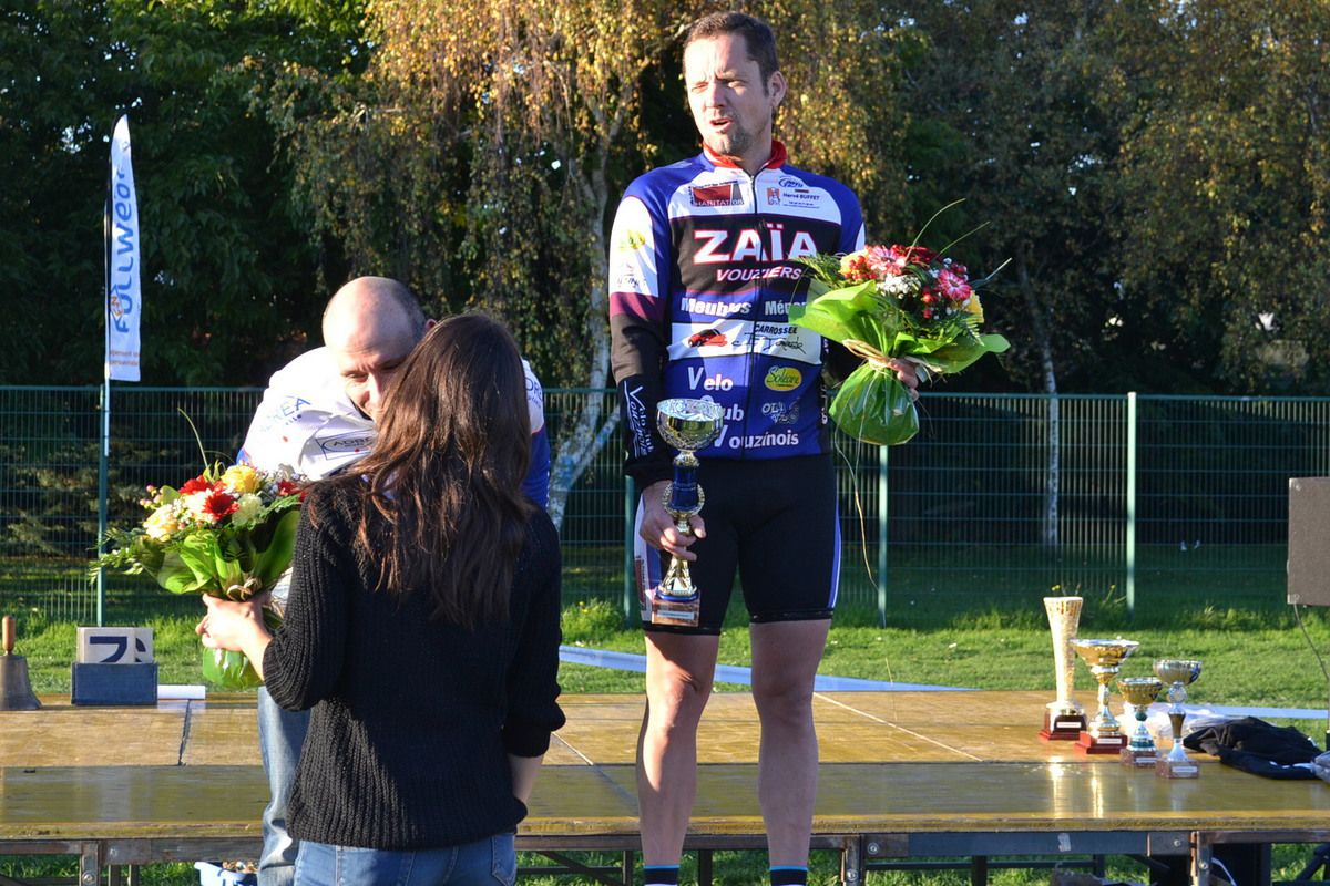 Podium départemental.