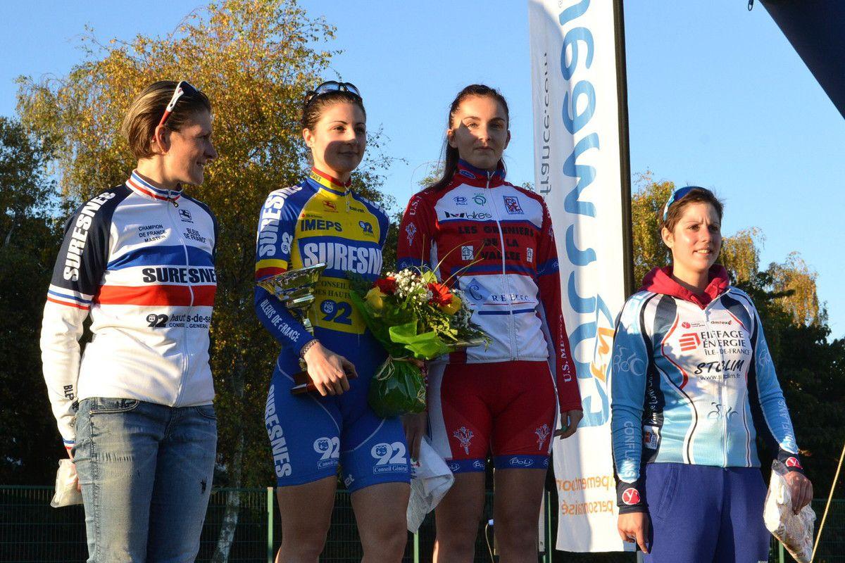 Laure BOUTELOUP, Gwendoline ALVES, Charlotte NIDERCORNE et Gwennig LE DANTEC.