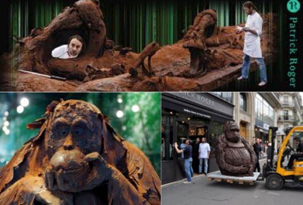 CHOCOLAT - TOUT CHOCOLAT - PATRICK ROGER UN FOU DU CHOCCOLAT.....