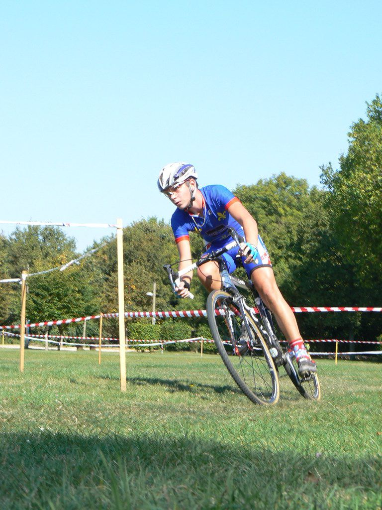 Anthony TURGIS (US Métro), champion d'ile de France Juniors à Mennecy (sept 2008)