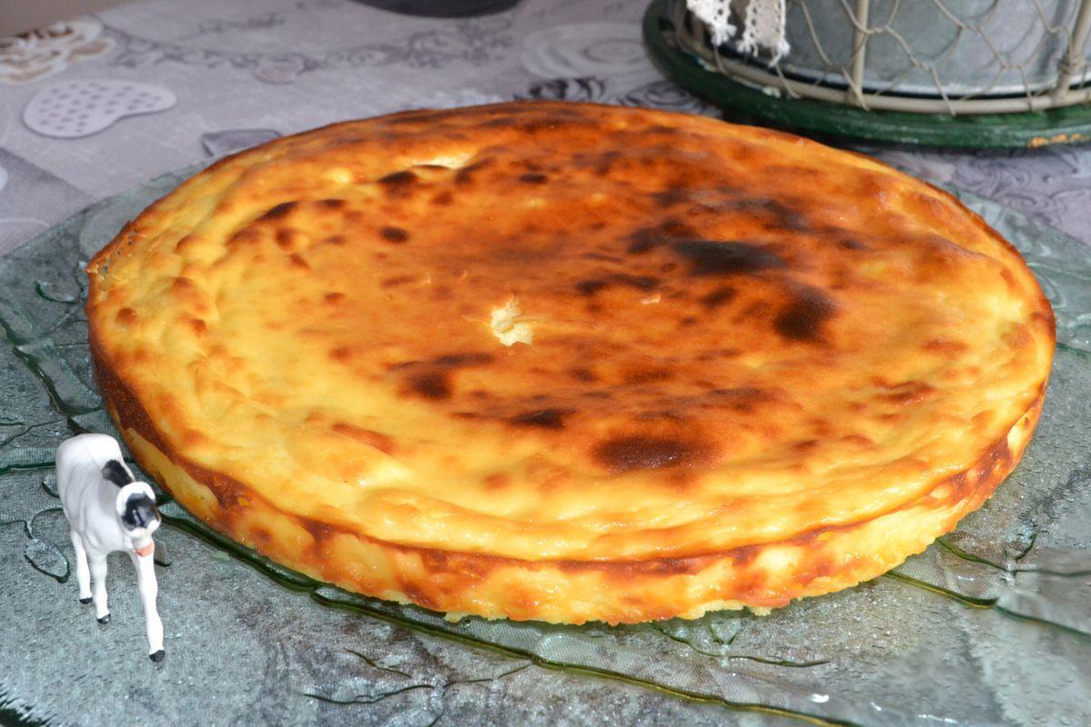 FIADONE (flan Corse au citron) ( meilleure boulangerie de France)