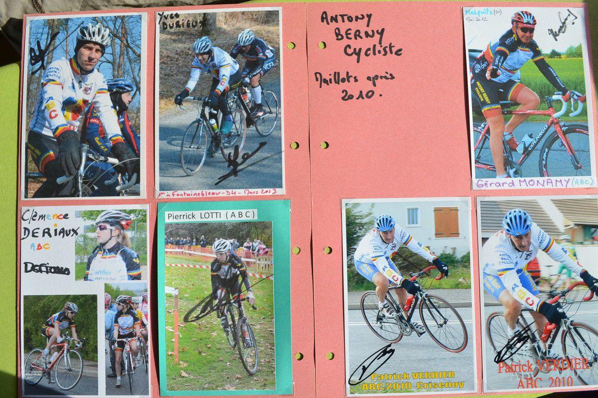 Antony Berny Cycliste.