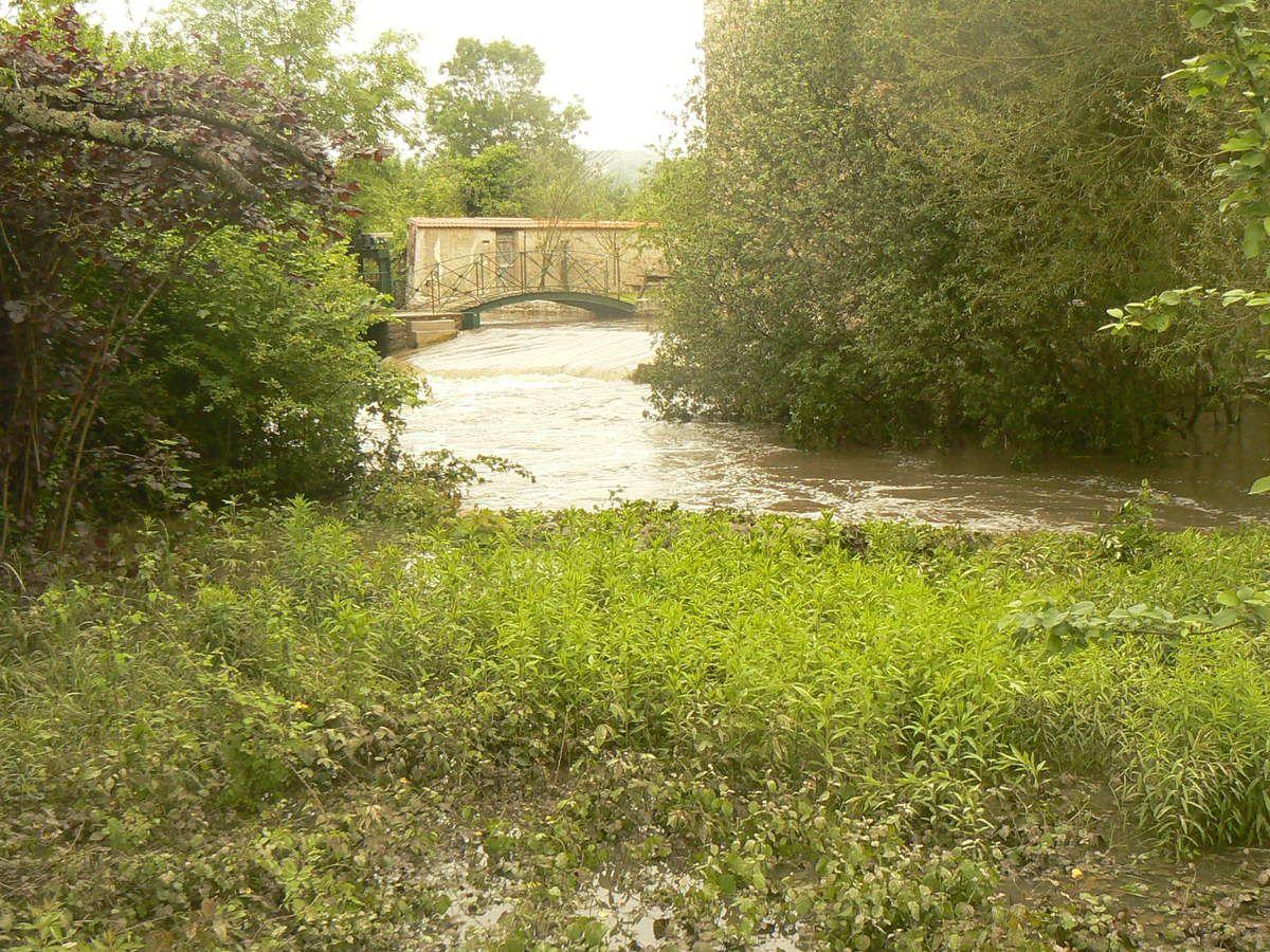 Vers le Moulin de Saulx.