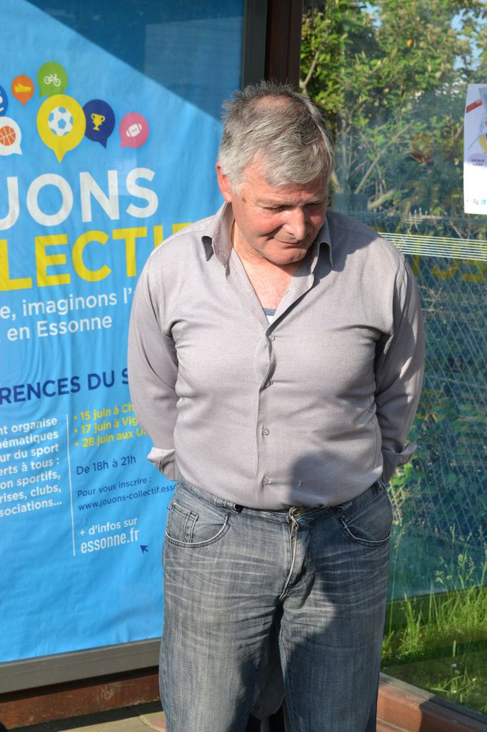 Michel GUILLY (ancien de l' ASCE) venu en spectateurs.