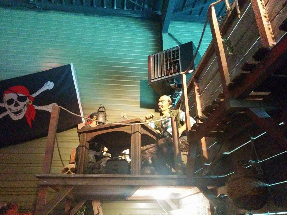 LE REPERE DES PIRATES A VILLECRESNES (94) RESTAURANT AVEC ANIMATIONS