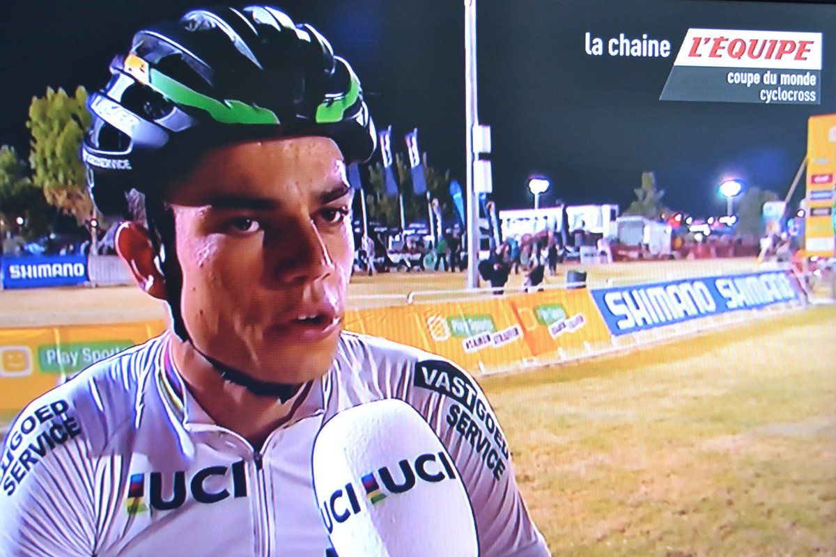 Interview de Van AERT, Champion du monde 2016.