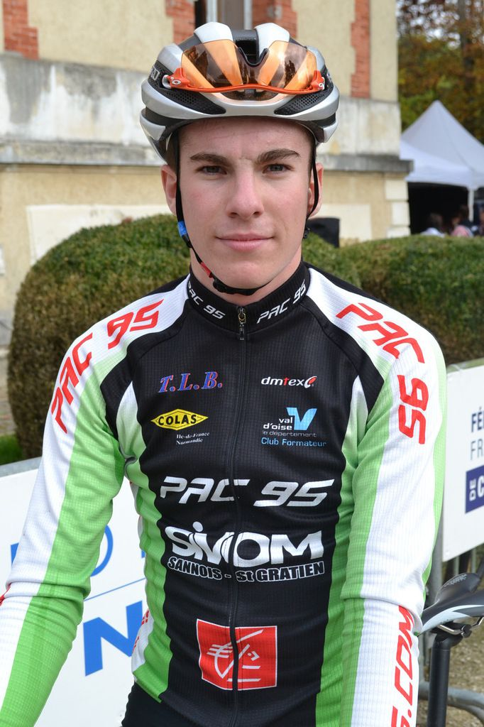 Théo NONNEZ (Pac 95), Champion de France Juniors 2016.