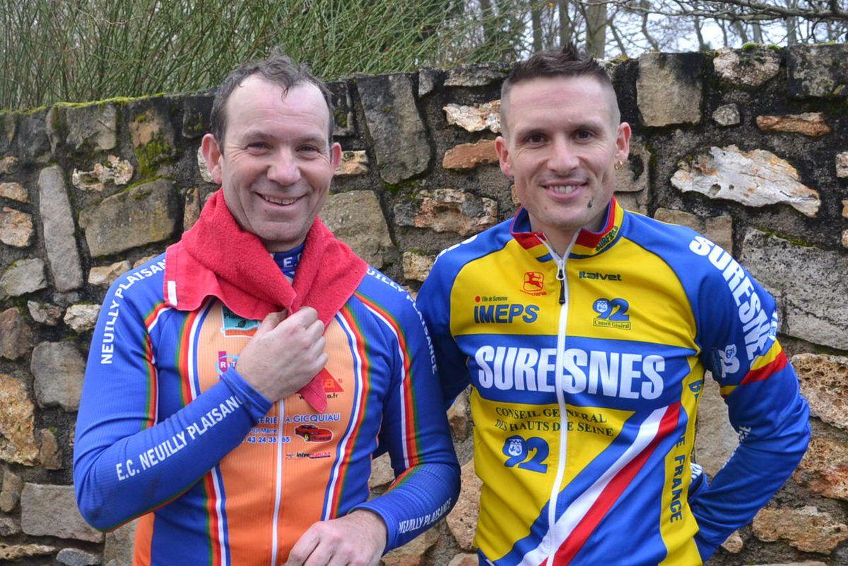 Je suis avec Christophe DELAMARRE, le vainqueur, comme en 2014.