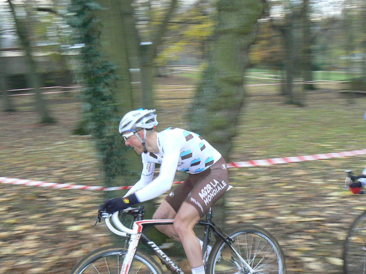 Wissous 2010, Dimitri en cyclo-cross.